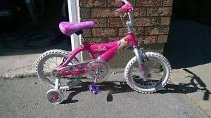 "Girls Barbie bike 12"""