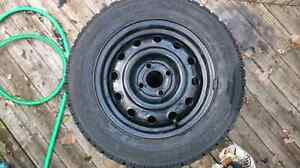 Goodyear Winter Tires with rims 175/65R14 London Ontario image 3