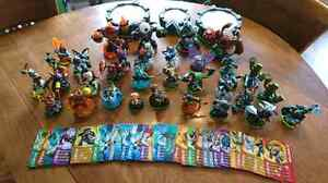 Skylanders figures and Power Portals for 3DS and X360