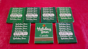 Matchbook covers-Holiday Inn