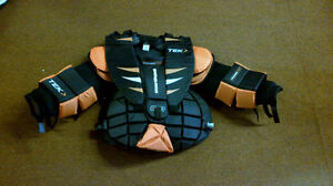 Brand New Powertek Jr and Sr Goalie Chest and Arm Protector