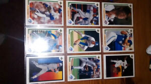 Toronto Blue Jays 1991 Upper deck cards