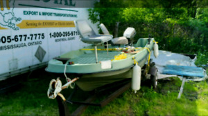 Small hunting or fishing boat best offer