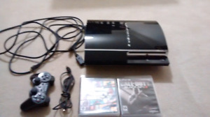 Sony Playstation 3 + Games + Controller