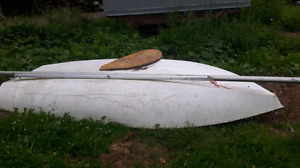 12 ft sail boat  just the hull left