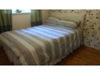 Doubled bed Divan & orthopedic mattress
