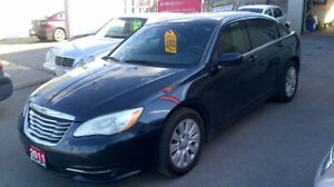 2011 CHRYSLER 200   $ 4899 / CERTIFIED / 1 YEAR WARRANTY