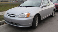 2002 Honda Civic 2 door ,Automatic ,Safety e test ,And warranty