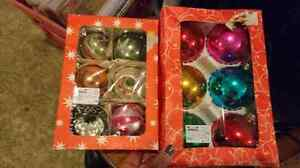 Antique large glass Xmas ornaments east Germany  London Ontario image 1