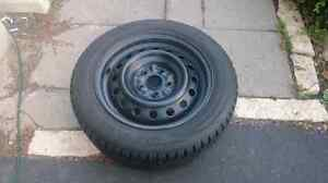 16Inch Set of 4 Winter Tires on Rims for sale $400
