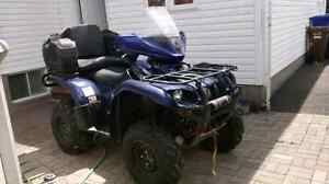 06 660 yamaha grizzly trade Jeep or convertible car