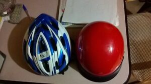 2 helments for sale
