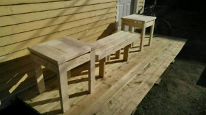 Outdoor Patio Furniture Solid Wood