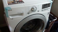 very excellent Front load LG washer