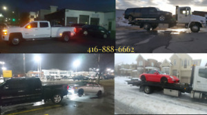 CHEAP TOWING FLAT BED TOW TRUCK ROADSIDE ASSISTANCE SCRAP CARS