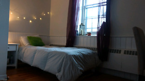 Room for Rent close to Queen's & SLC