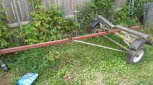 Small Boat Trailer 14 ft Feet. $200.0 O.B.O
