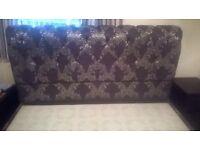 Star plan king size bed frame (no mattress)