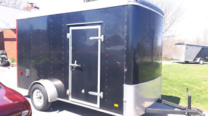 7' tall 6'x12' Enclosed  Cargo Trailer