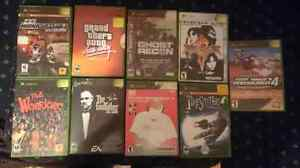 X Box Original with 9 games and 4 controls