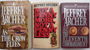 3 Jeffrey Archer thrillers