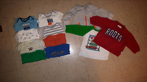 3-6 month boys tops