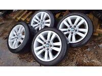 17 inch BMW alloys with wheels