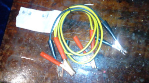 Booster cables / jumper cables
