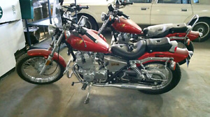 2 Honda Rebel CBX250cc, vintage, great condition for the year.