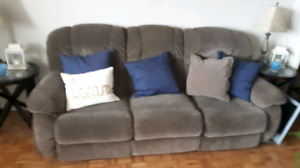 2 lazy boy recliners and non reclining love seat 3 couches $150