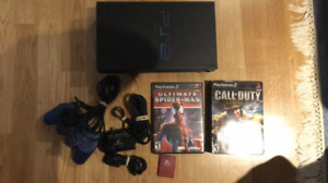 Sony PlayStation 2 Ps2 Console System With Games