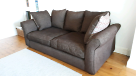 DFS 3 Seater sofa with reversible cushions - Excellent Condition.