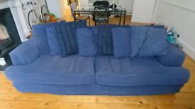 4 seater sofa.