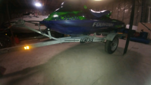 Trade single seadoo trailer for double seadoo trailer