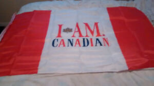 I am Canadian flag