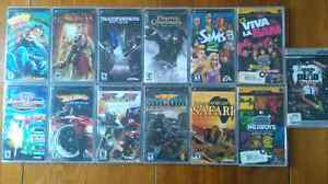 PSP GAMES AND MOVIES ALL WITH ORIGINAL CASE'S