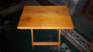 Solid Maple Hand-Crafted TV Tables. Only $20/each!!