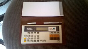 CANON Chequbook - Money Manager ( Vintage 1980) London Ontario image 1