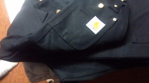Brand new pair of black Carhartt overalls! $100 obo