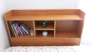 Tête de lit simple bibliothèque