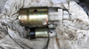 Refurbished starter from 350 chevy motor