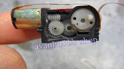 DC 3V-12V 30-130RPM Mini Worm Gear Geard DC Motor Gearbox Speed Reductor Motor