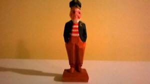 Sculpture de marin en bois  Hannah sailor wood carving $30