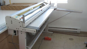 NEOLT ELECTRIC STRONG TRIM PAPER CUTTER WITH STAND - MODIFIED West Island Greater Montréal image 2