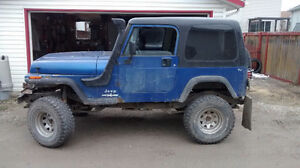 1995 Jeep Wrangler Coupe (2 door)