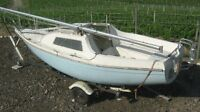 SAILBOAT 18 1/2 ft  SANDPIPER 565