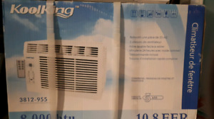 AC in the box never used, mint condition