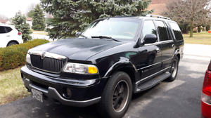 2001 Lincoln Navagator fully equipped