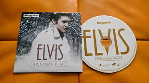 Elvis Christmas Peace UK Promo Cd for The Mail