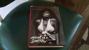 """Diana Ross, from the Supremes, Book, """"Secret of a Sparrow"""